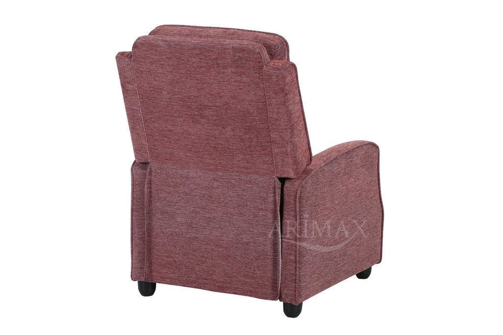 Кресло Arimax Dr Max DM02001 (Брусничный) - фото 8