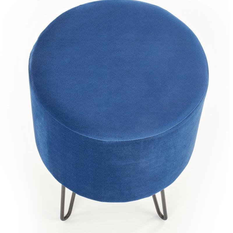 Пуфик Halmar KHEOPS (темно-синий) V-CH-KHEOPS-PUFA-GRANATOWY - фото 2