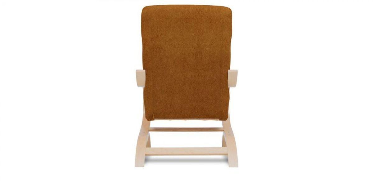 Кресло WOWIN Вейв (Медная эко-замша) - фото 5