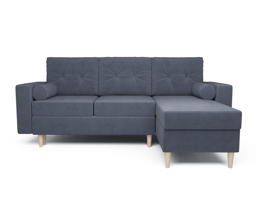 Диван Мебель-АРС Белфаст (велюр серо-синий / НВ-178/26) - фото 2
