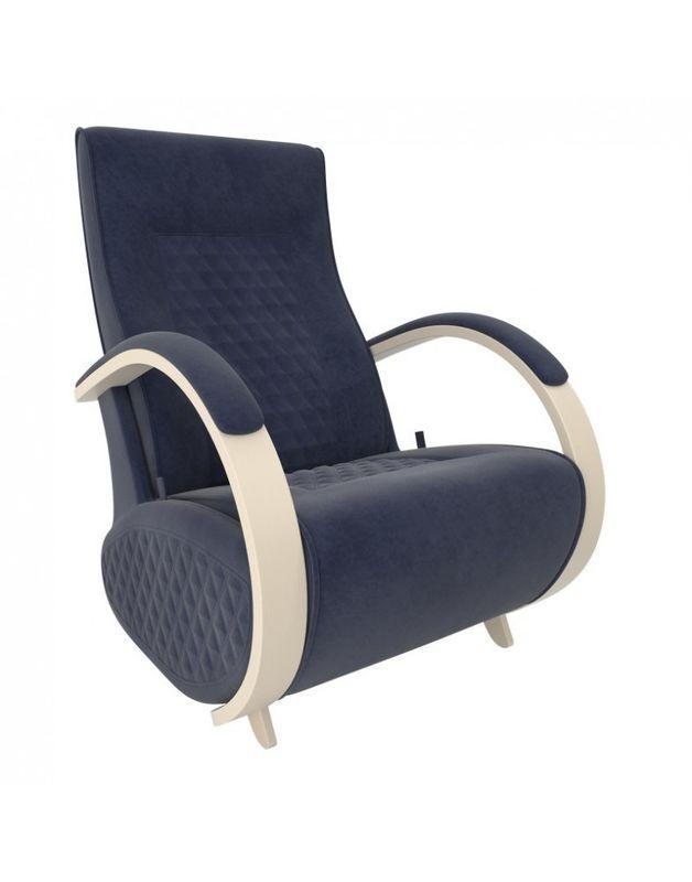 Кресло Impex Balance-3 Verona  сливочный (denim blue) - фото 1