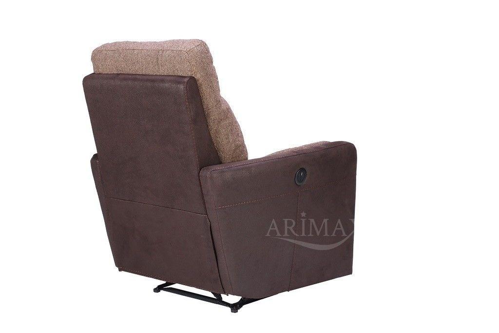Кресло Arimax Мюррей (Шоколадная крошка/Пралине) - фото 6