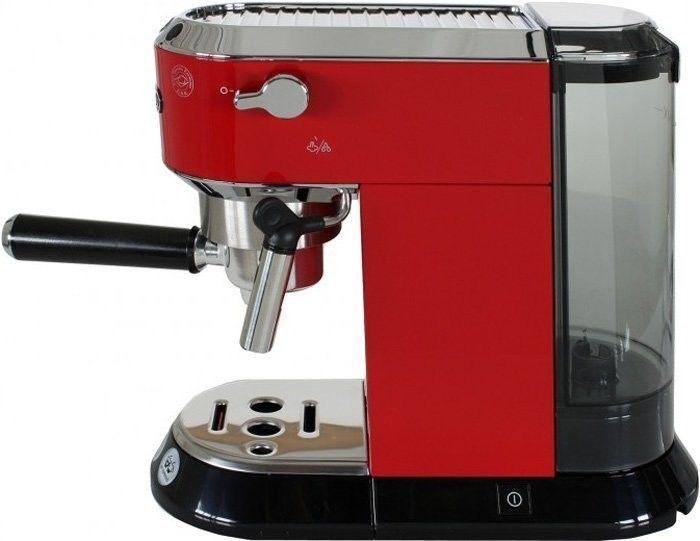Кофеварка DeLonghi Dedica EC 680.R - фото 3
