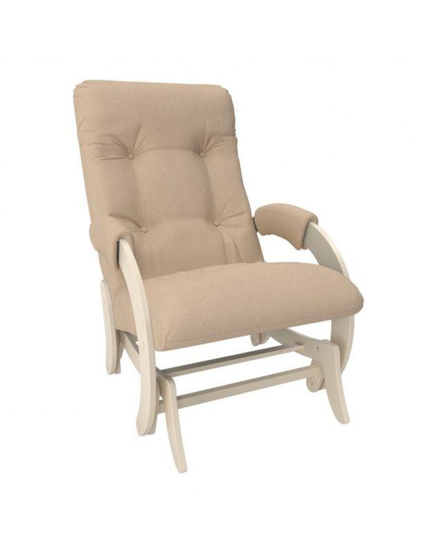 Кресло Impex Кресло-гляйдер Модель 68 Montana сливочный (Montana 902) - фото 1