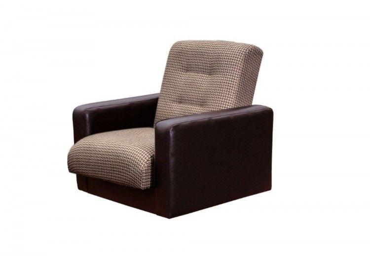 Кресло Луховицкая мебельная фабрика Лондон корфу микс коричневый - фото 2