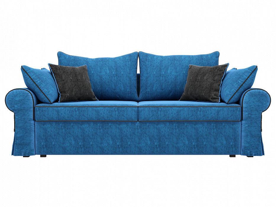 Диван Mebelico прямой Элис Велюр голубой - фото 4