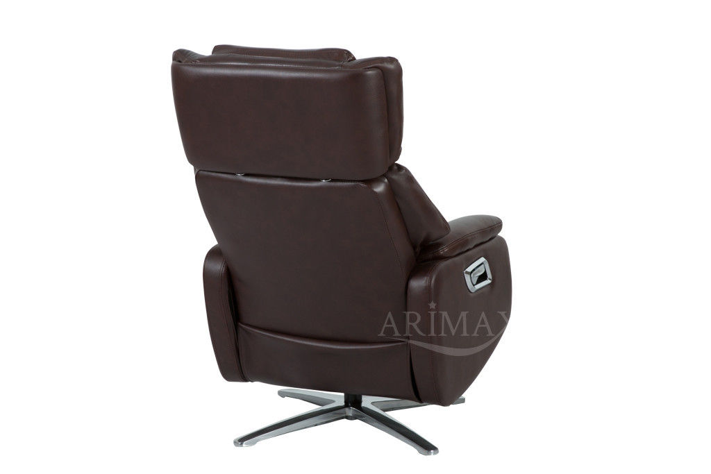 Кресло Arimax Dr Max DM02009 (Каштан) с подставкой для ног - фото 4