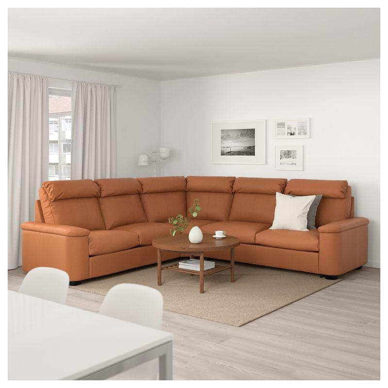 Диван IKEA Лидгульт золотисто-коричневый [892.661.62] - фото 2