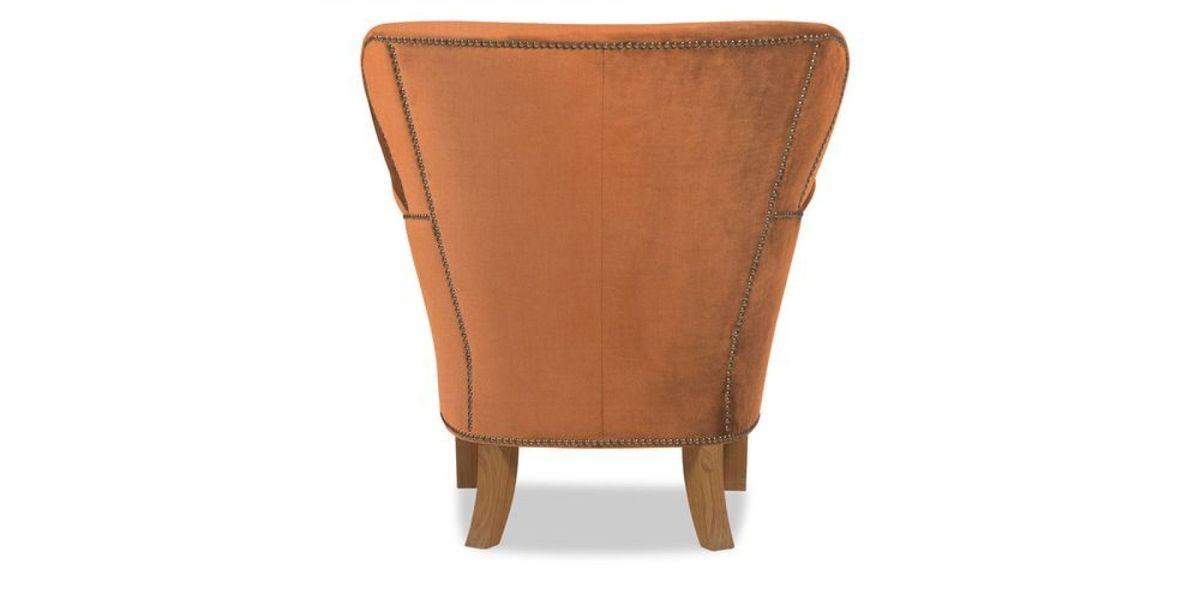 Кресло WOWIN Голден (Бледно-лососевый велюр) - фото 5