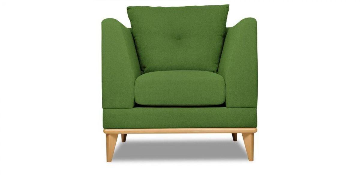 Кресло WOWIN Эстар (Зеленый велюр) - фото 2