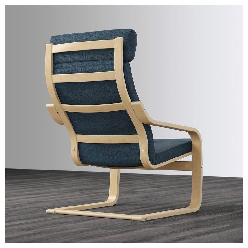 Кресло IKEA Поэнг 492.514.93 - фото 4