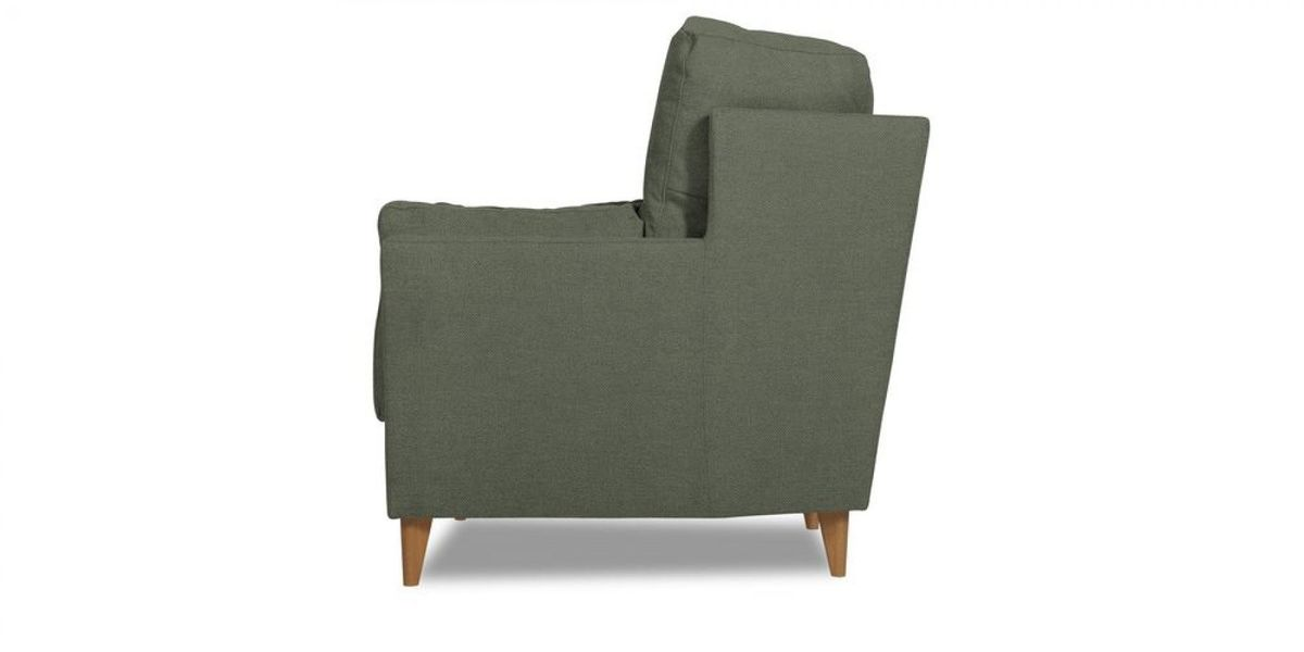Кресло WOWIN Хюгге (Графитовый микровелюр) - фото 3