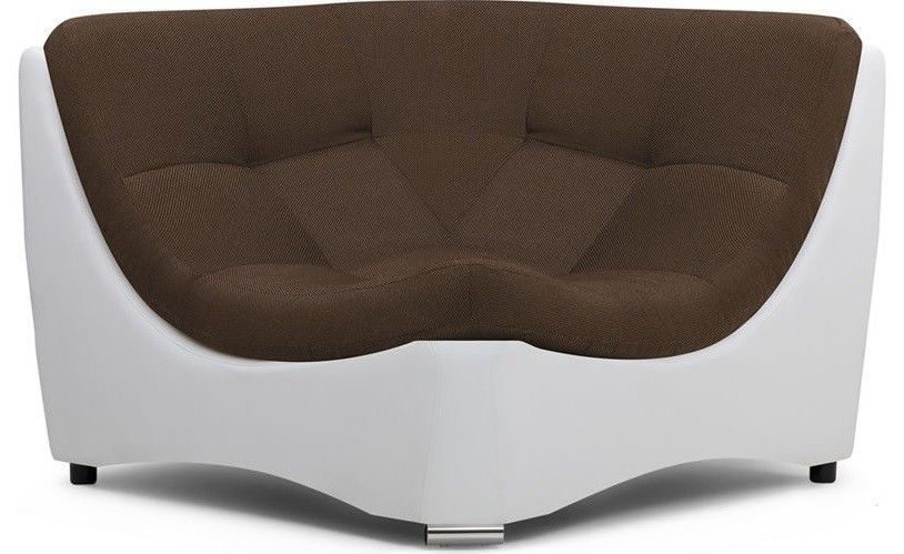 Диван Woodcraft Угловое кресло Монреаль Textile Brown - фото 1