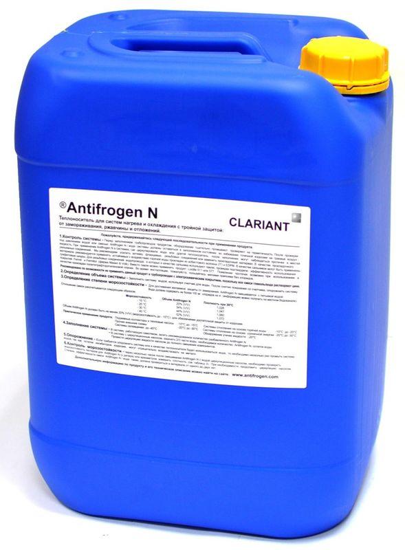 Теплоноситель Clariant Antifrogen N 20 л - фото 1