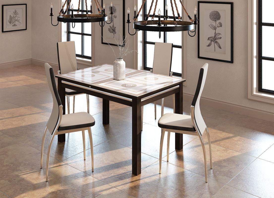 кухонный стол со стульями картинка
