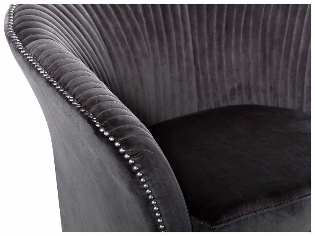 Кресло Garda Decor Кресло для гостиной Garda Dеcor PJS30801-PJ636 GRD_TT-00000180, серый - фото 4