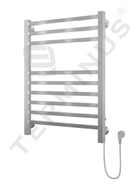 Полотенцесушитель Terminus Ватикан П9 500x713 (скрытая проводка) - фото 1