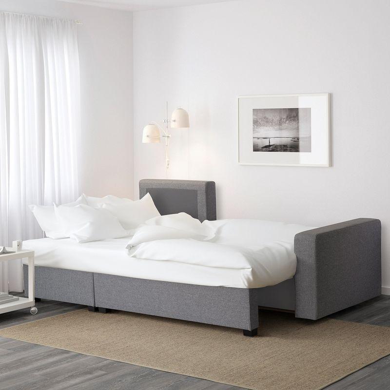 Диван IKEA Гиммарп светло-серый [304.489.04] - фото 3