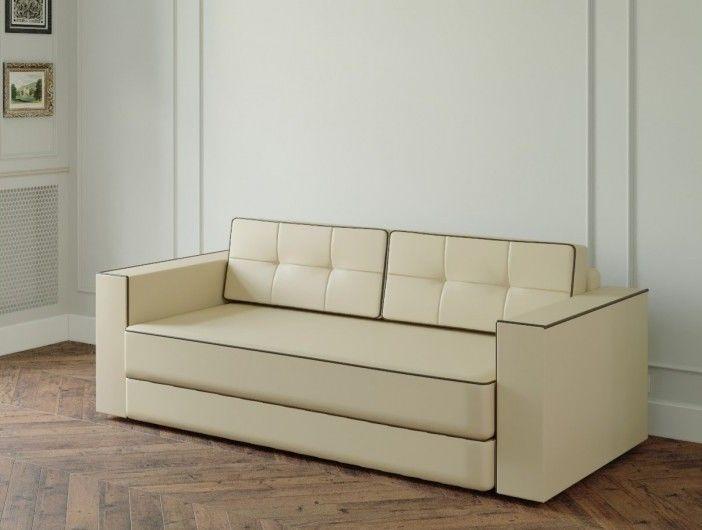 Диван Настоящая мебель Ванкувер Модерн (модель: 00-000034539) бежевый - фото 1