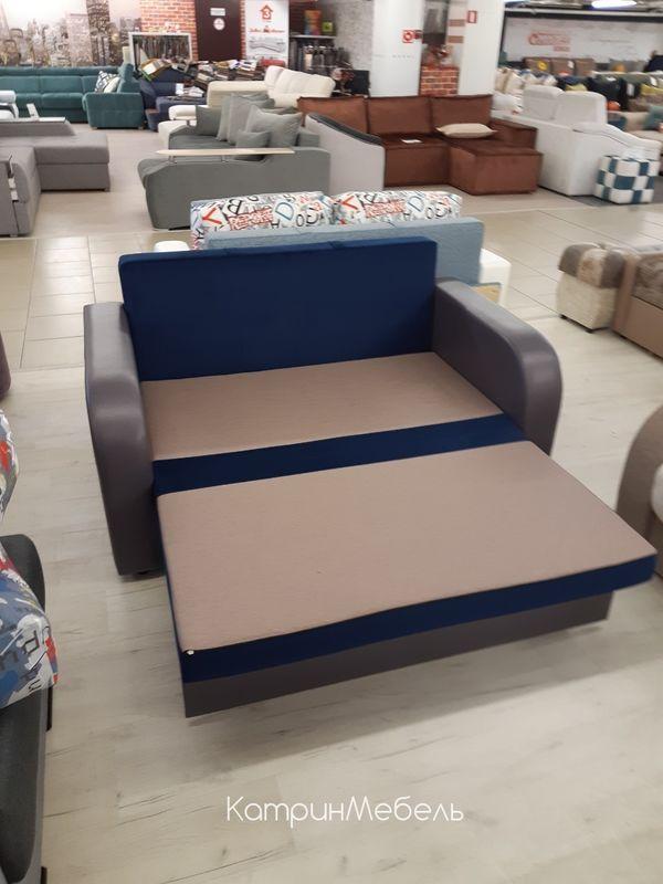 Диван DM-мебель Сиеста (синий/буквы) - фото 3