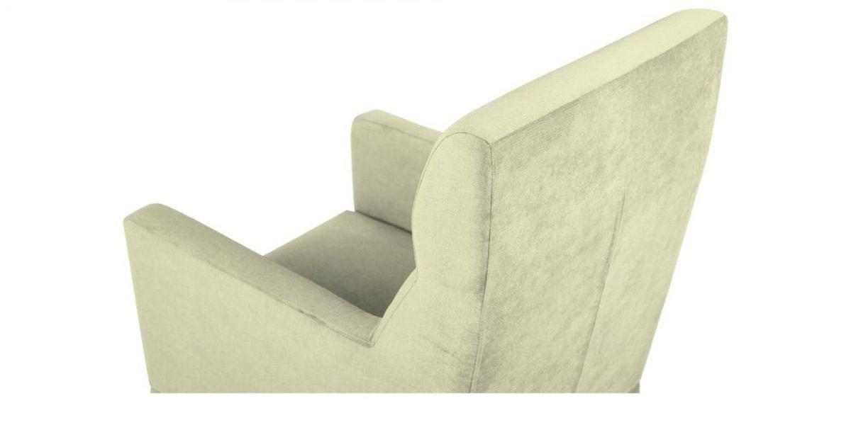 Кресло WOWIN Полар высокое (Молочный велюр) - фото 4