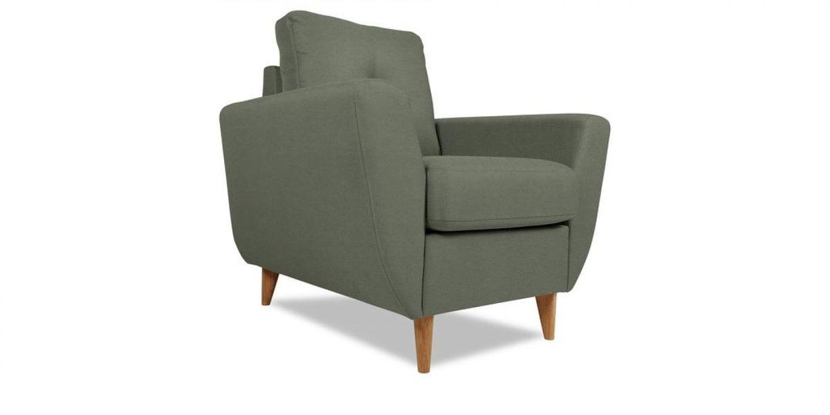 Кресло WOWIN Хоум (Графитовый микровелюр) - фото 1