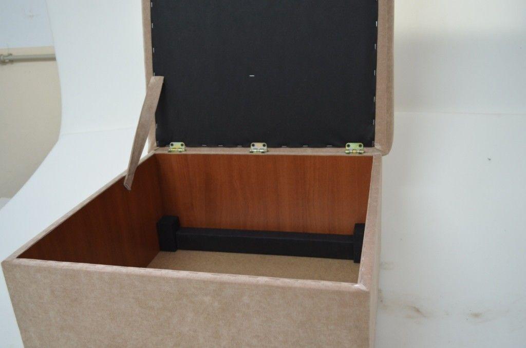 Пуфик Вливск-Мебель 60х60 см с нишей для хранения - фото 6