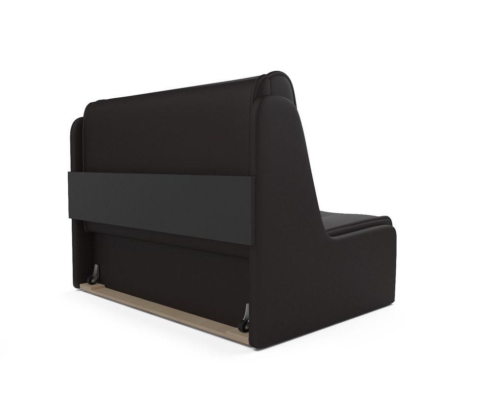 Диван Мебель-АРС Аккордеон №2 - экокожа шоколад (120х195) - фото 4