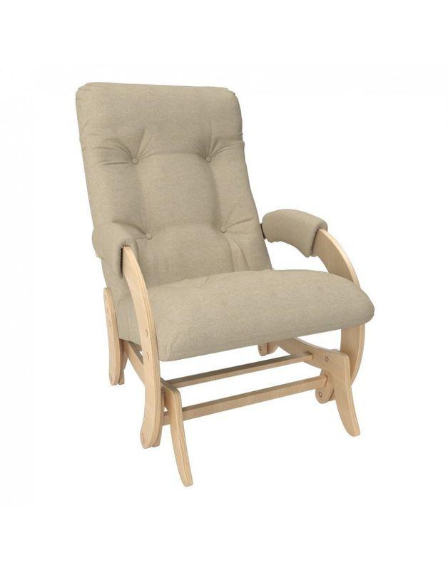 Кресло Impex Кресло-гляйдер Модель 68 Мальта натуральный (Мальта 3) - фото 2
