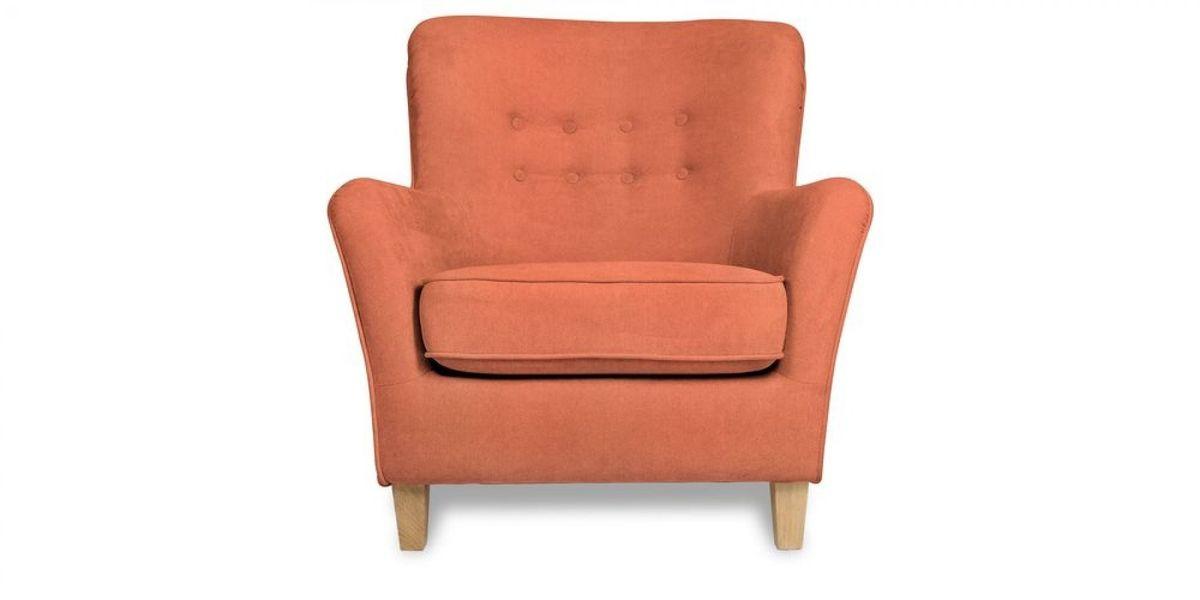 Кресло WOWIN Нуар (Терракотовый велюр) - фото 2
