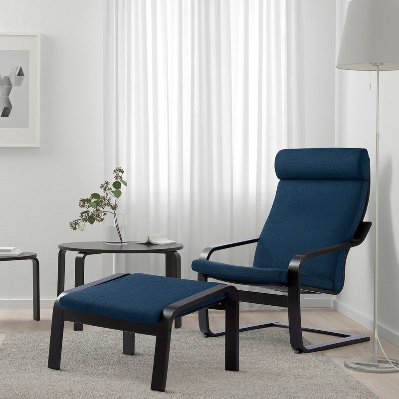 Кресло IKEA Поэнг 593.028.02 - фото 3