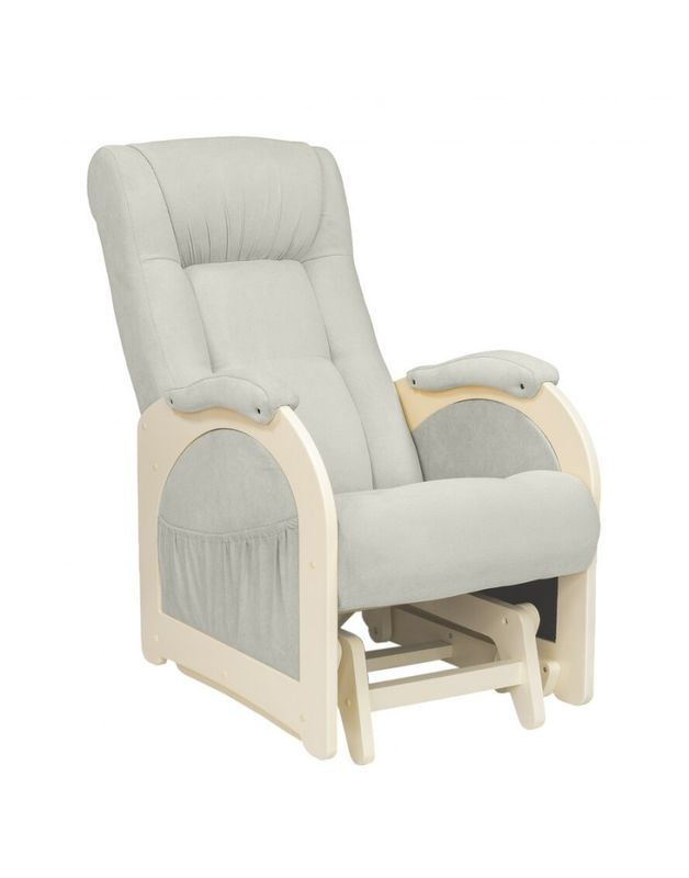 Кресло Impex Модель 48  verona сливочный  б.л. (light grey) - фото 1