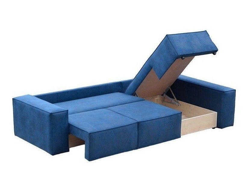 Диван Tiolly Норд угловой (синий) - фото 3