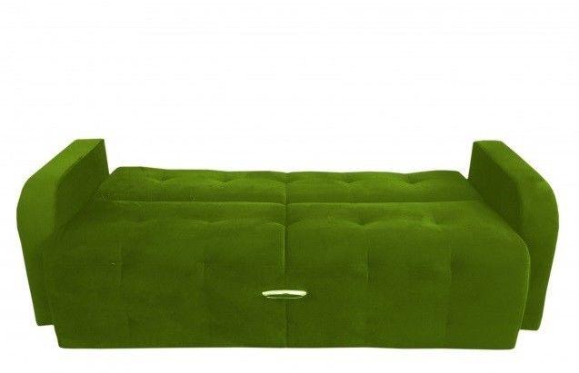 Диван Луховицкая мебельная фабрика Марсель (велюр зеленый) 140x190 - фото 2
