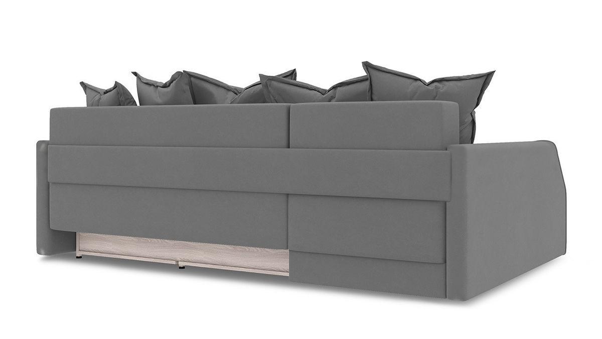 Диван ТриЯ левый «Люксор Slim Т2» (Neo 07 (рогожка) светло-серый) - фото 4