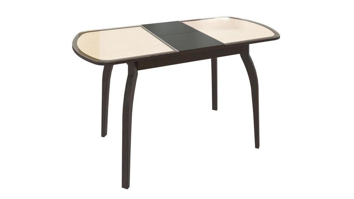 Обеденный стол ТриЯ Ницца 2 раздвижной на деревянных ножках - фото 7