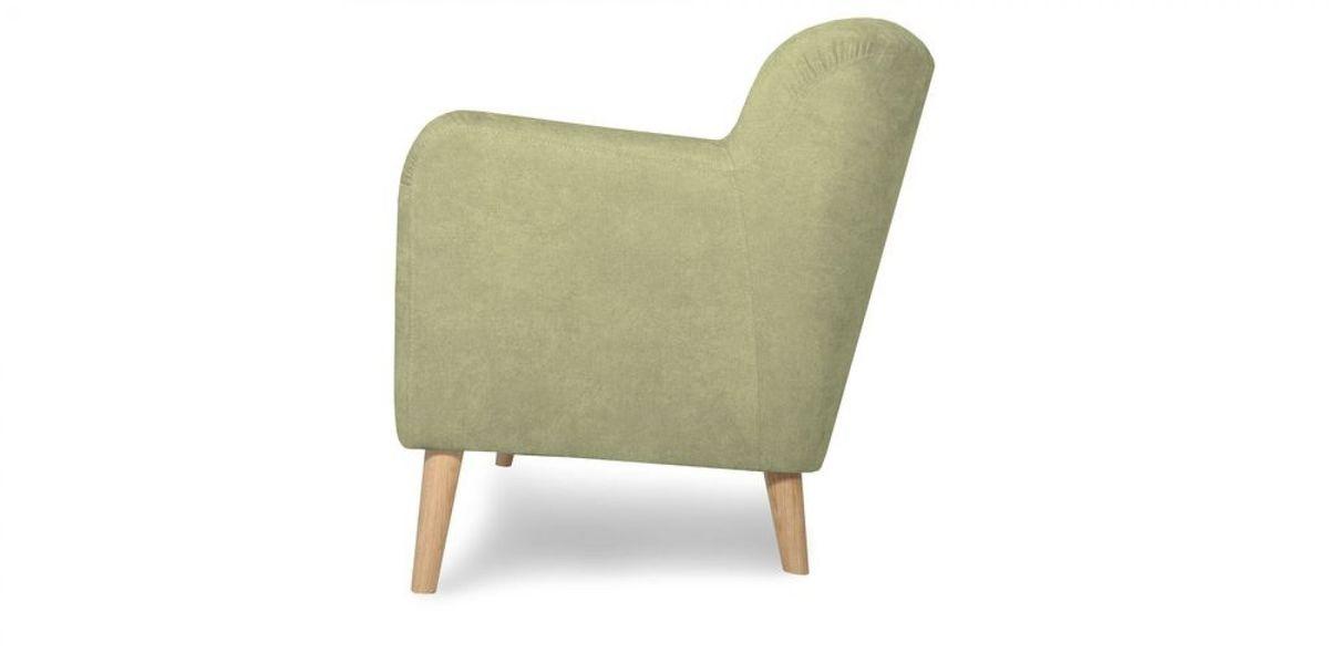 Кресло WOWIN Ингрид (Серо-бежевая микророгожка) - фото 4