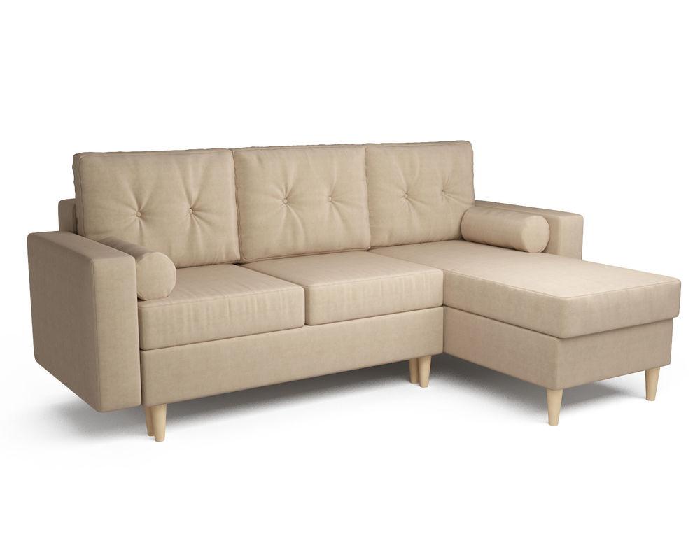 Диван Мебель-АРС Белфаст (рогожка бежевая) - фото 1