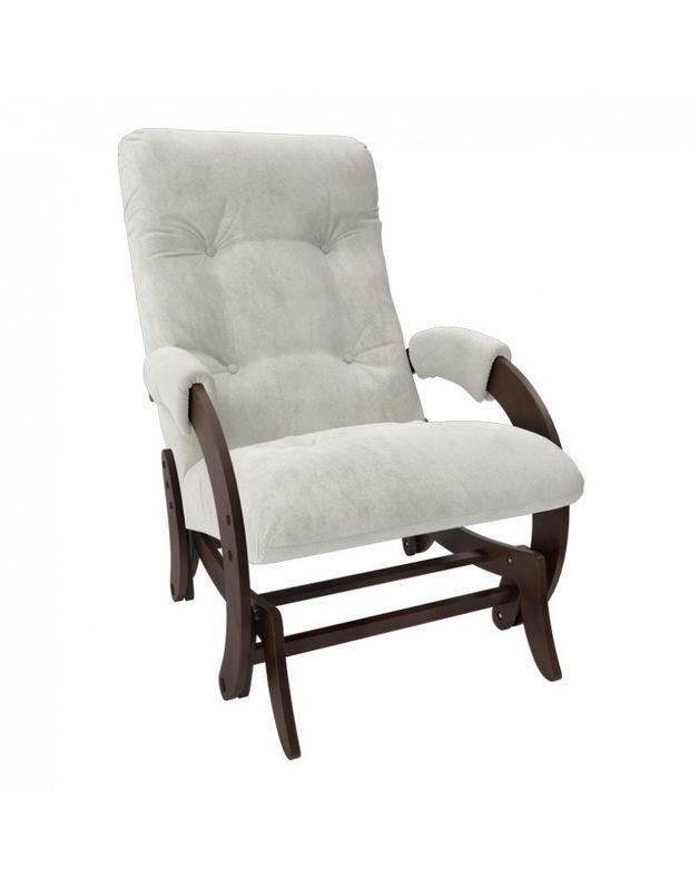 Кресло Impex Кресло-гляйдер Модель 68 Verona орех (Antrazite grey) - фото 3