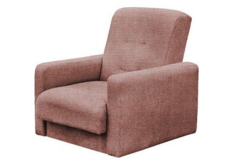 Кресло Луховицкая мебельная фабрика Лондон коричневая рогожка (120х190) - фото 2