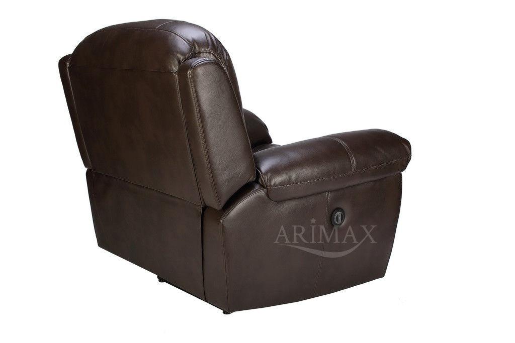 Кресло Arimax Миллер N (Темный каштан) - фото 6