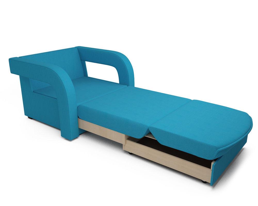 Кресло Мебель-АРС Кармен-2 синий (рогожка) - фото 7