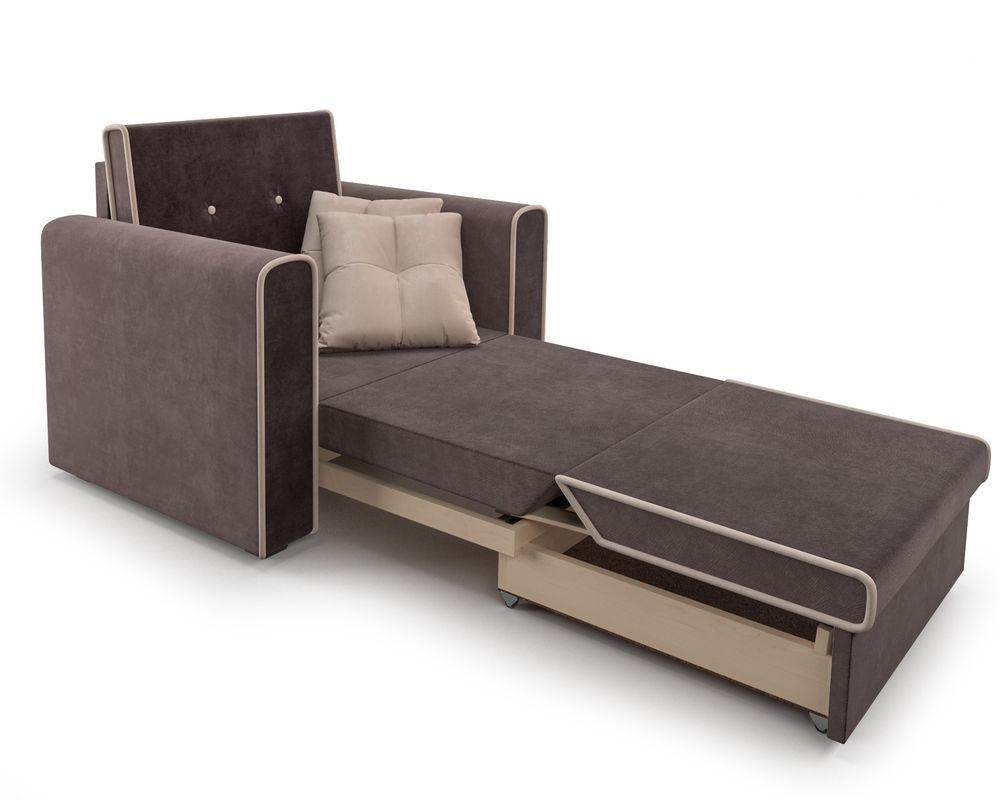 Кресло Мебель-АРС Санта (кордрой коричневый) - фото 8