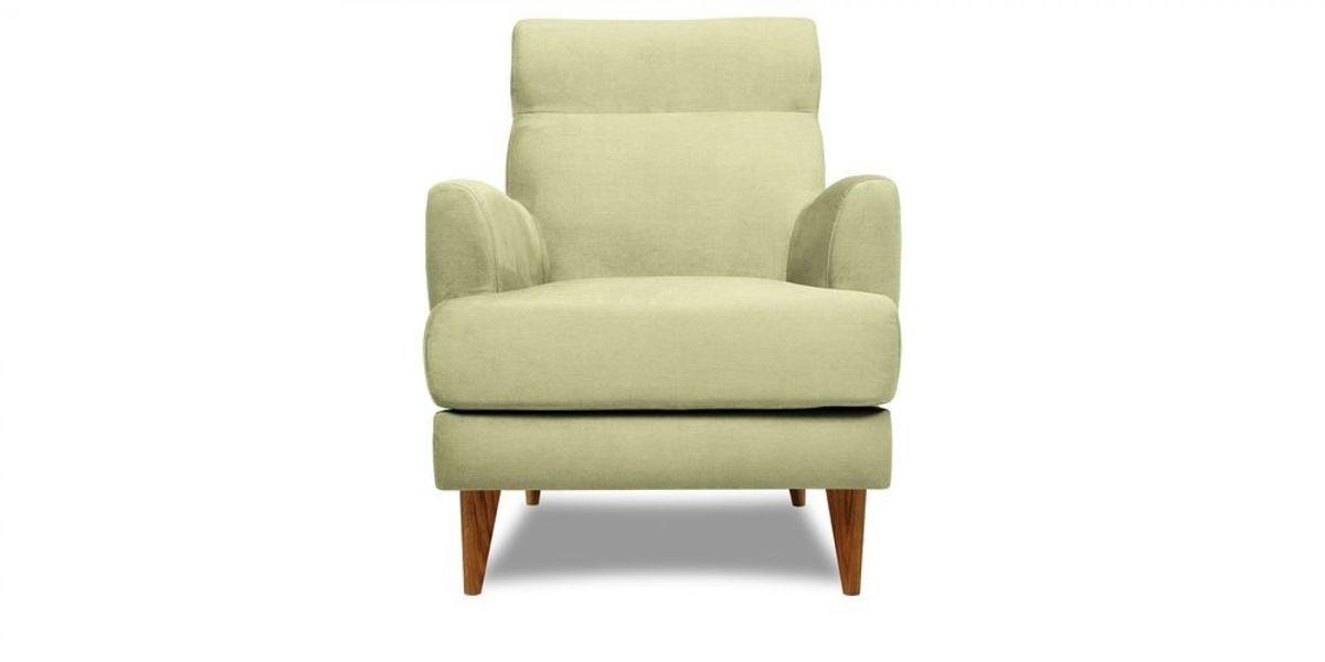 Кресло WOWIN Айленд (Серо-бежевая микророгожка) - фото 2