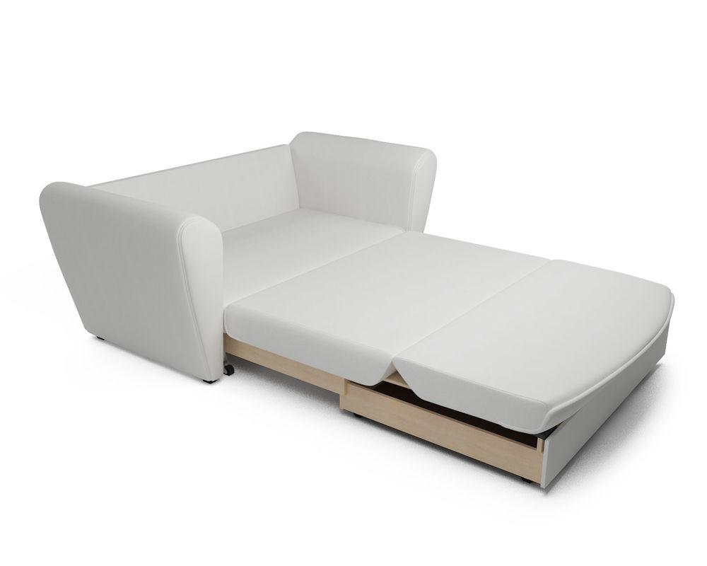 Диван Мебель-АРС Квартет белая экокожа - фото 7