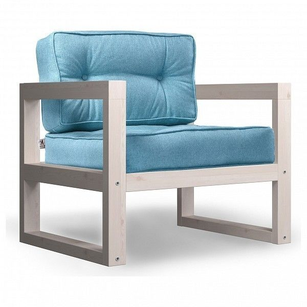 Кресло Anderson Астер AND_122set243, голубой - фото 1