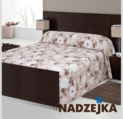 Покрывало Nadzejka Мелиса (двуспальный) коричневый - фото 1