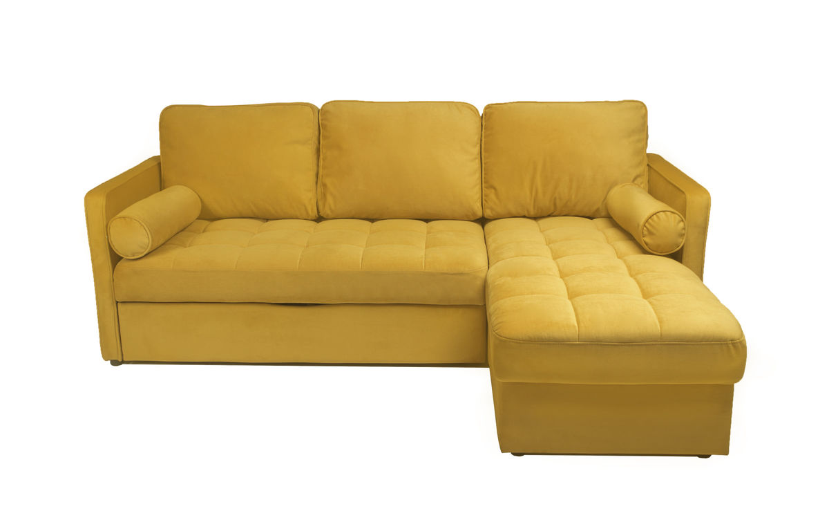 Диван Puffo Ливерпуль Velvet Yellow - фото 1