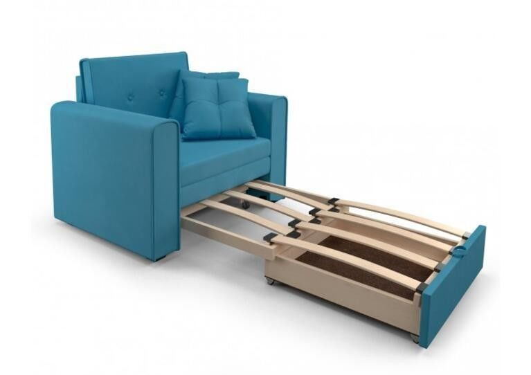 Кресло Craftmebel Санта (синий) - фото 3