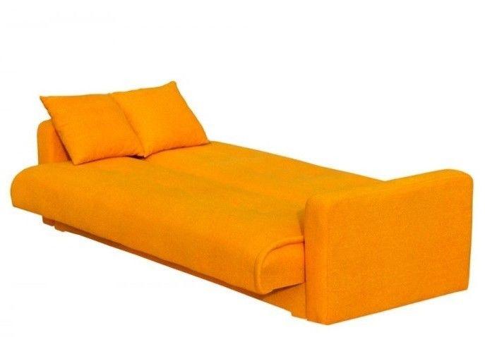 Диван Луховицкая мебельная фабрика Милан (Астра оранжевый) 120x190 - фото 3